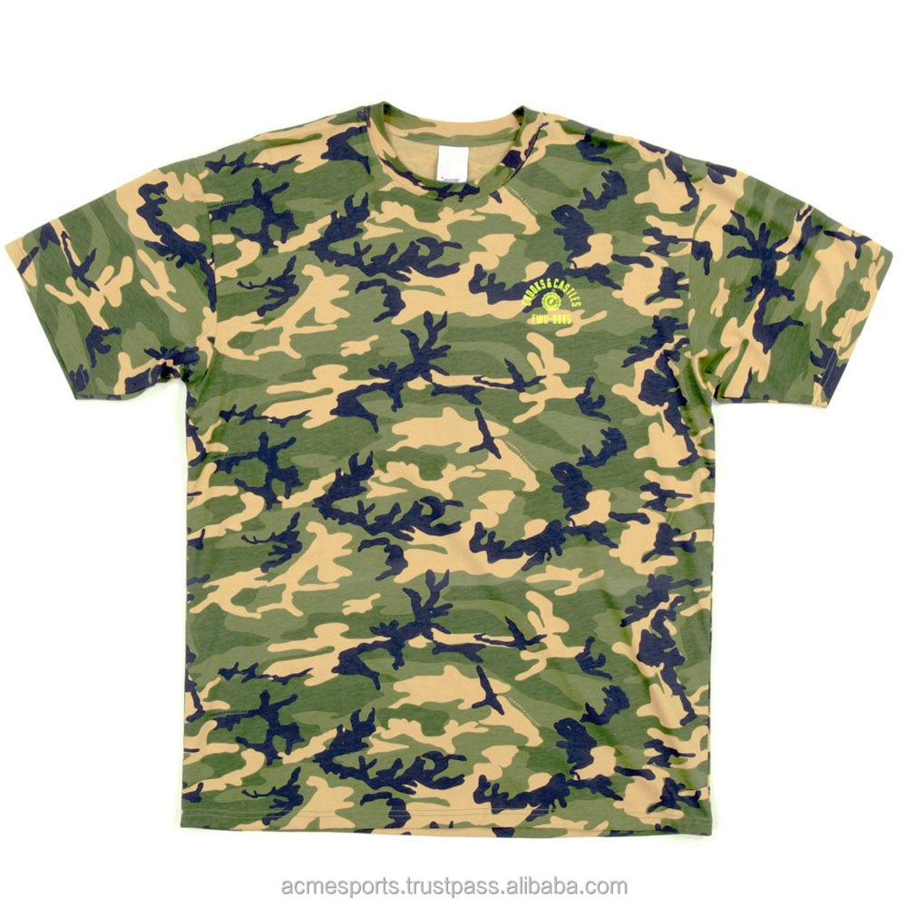 Camouflage t shirts army green t shits custom new for Custom t shirts camouflage
