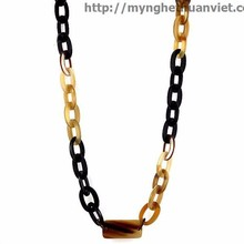Friendship necklaces : Material 100% natural water buffalo horn