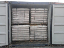Natural Bitumen packed in 50LBS multi paper bag on pallet ready for shipment