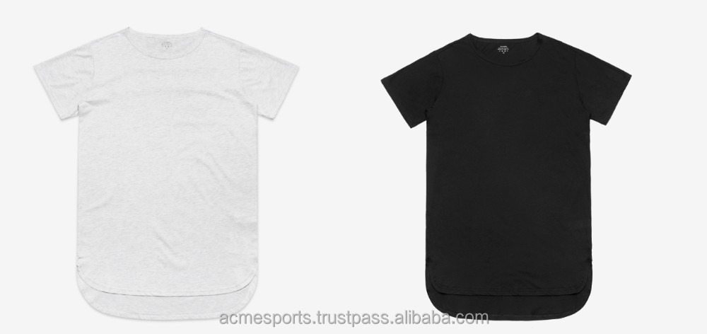 Tall t shirts short front and long back bottom t shirts for Custom t shirts front and back