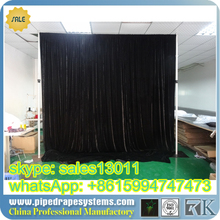 RK Top quality 10FT diameter circle/round pipe and drape system /circle pipe and drape supports