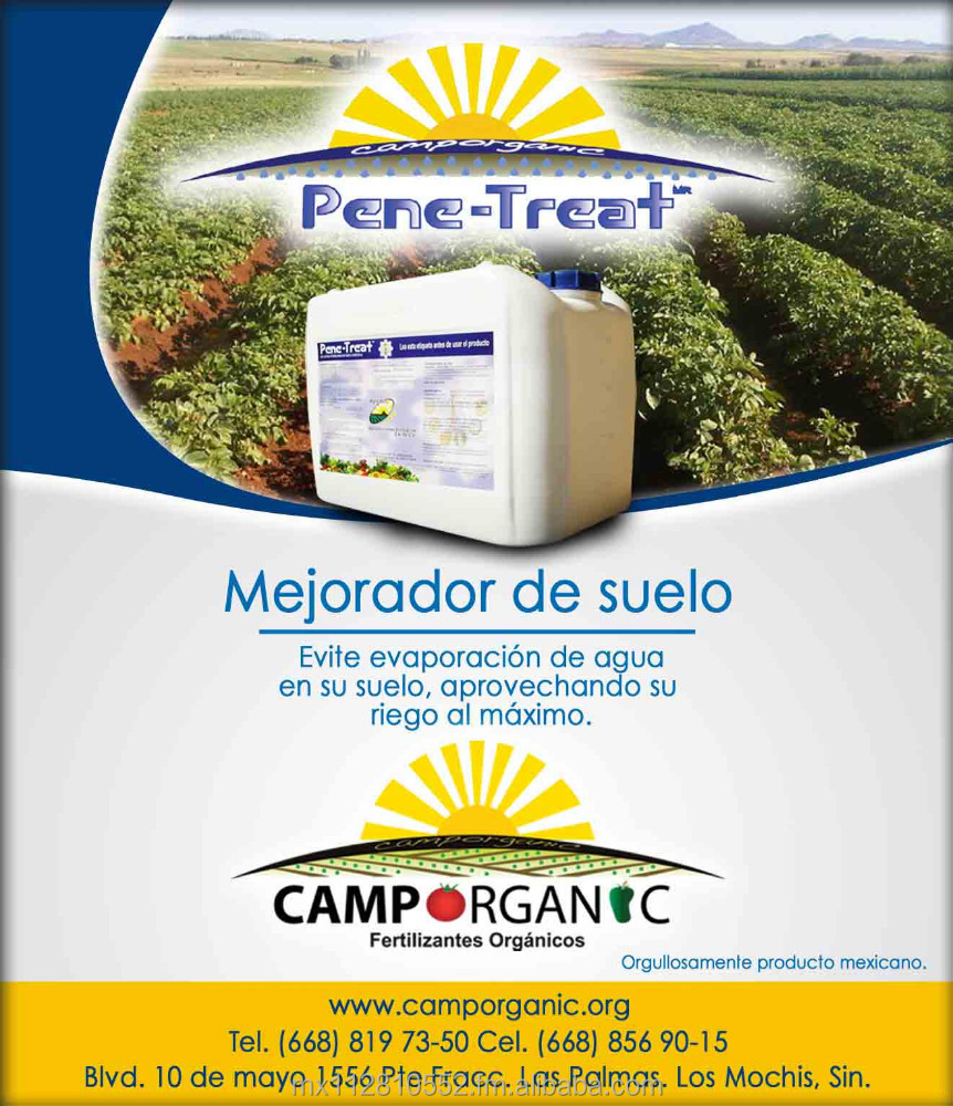 PENE-TREAT ORGANIC SOIL TREATMENT
