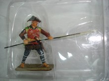 Del Prado Japan samurai Yari Ashigaru metal action figure