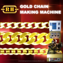 Gold Chain Making Machine with Automatic Soldering Plasma