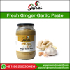 Crushed garlic paste ginger paste garlic paste