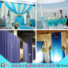 Wholesale stage backdrop,backdrop wedding,backdrop pipe and drape for wedding