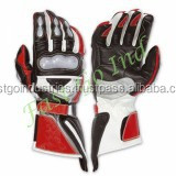 Aniline Leather Synthetic Leather Motorbike Motorcycle Racing Sports Gloves