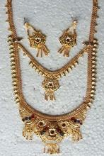 Multi-capa de chapado en oro collar de la joyería fabricante exportador