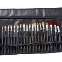 e.B.oTrade-Tech 32 Pcs Black Rod Makeup Brush Cosmetic Set Kit with Case