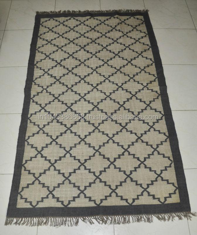 jute rugs indian handmade area mat woven larpet large rug