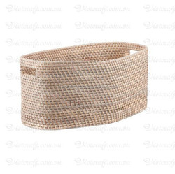 Cheap environmentally friendly bamboo folding fruit basket cheap rattan and bamboo basket for kitchen
