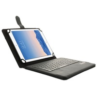 Universal Bluetooth Keyboard Leather Stand Case for ipad air and 9-10inch Tablet