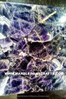 Gemstone Amethyst Flooring Tile