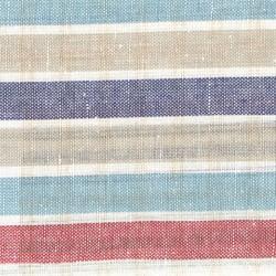 30% linen 70% cotton fabric strips
