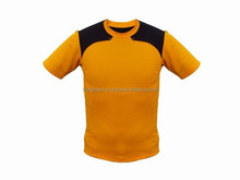 2015 New Design OEM mens t shirts for tennis with 100% cotton