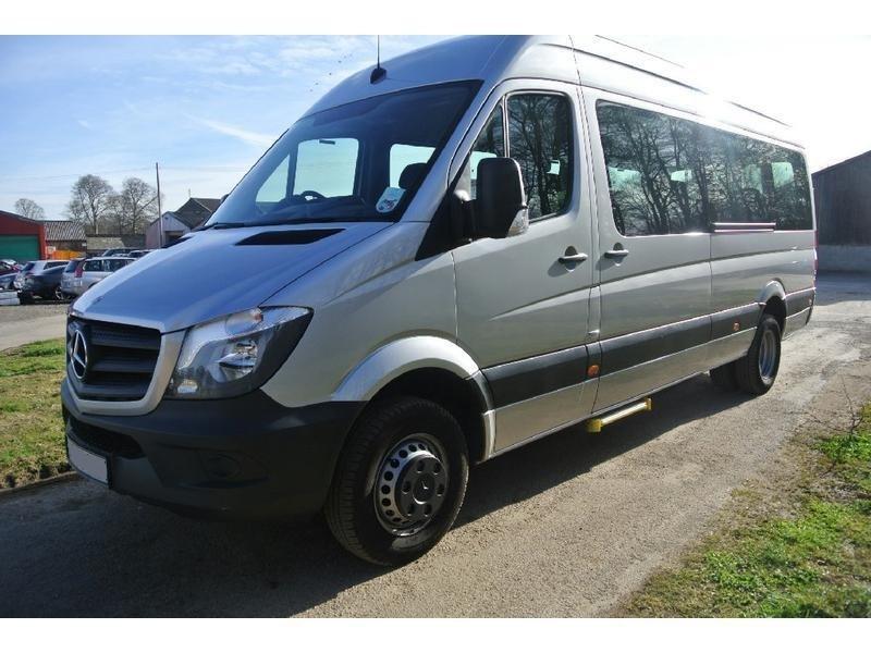 Used rhd mercedes benz sprinter 519 cdi 24 seater minibus for Used mercedes benz van