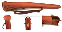 Genuine Leather Gun Cover , Case, Slip For Rifle / Shotgun 53""