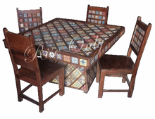 jangid art & crafts wholesale Indian wooden dining furniture manufacturer and dealer