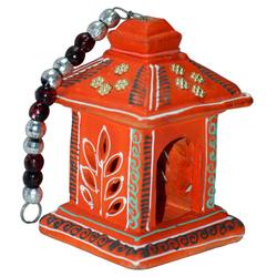 Indian Terracotta Handicraft Home Decor - Traditional Terracotta Lantern