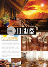 TAI-YO Wood Coating HI-GLOSS Sealer for Building&Furniture Wood Decorative Coating Paint