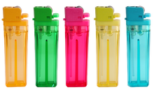 refillable gas transparent cigarette lighter FL-200..