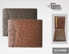 KHATOCO Ostrich Leather Wallets 04036
