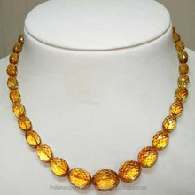 Gemstone Beads/AAA citrine oval facted beads/Factory direct sale 8*10mm citrine oval shaped Timepieces,/Jewelry, Natural gemston
