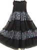 2015 new Georgette printed kids wear baby doll dress & halter dress for kids wear