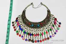 egyptian cairo bellydance necklaces kuchi women handmade costuming chokers for sale online saneens tribal jewelry on wholesale
