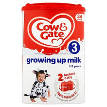 Cow and Gate Cow And Gate Growing Up Milk 1+ Years 900G