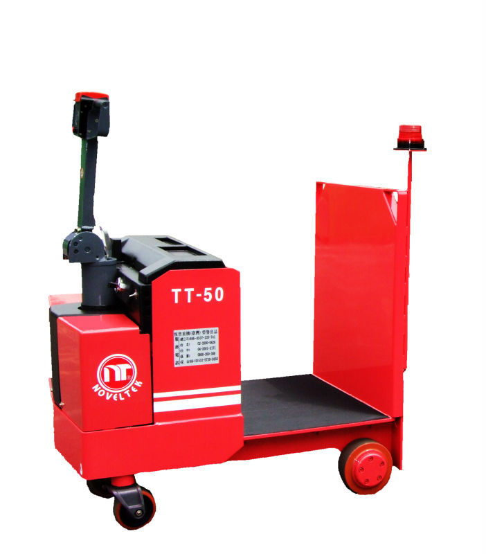 Power 5 Tons Standing Small Steering Wheel Trailer Electric Tow Truck