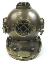 Nautical Antique Diver Helmet Mark V - Deep Diving Helmet Mark V - Nautical Diver's Helmet - Marine Gift