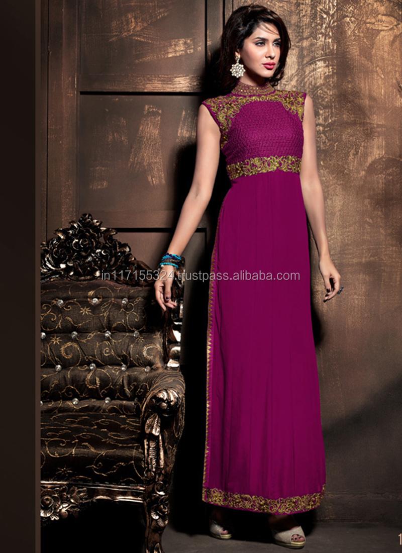 Bridal Party Wear Latest Blue Salwar Kameez\\pakistani Ladies Dress ...