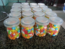 Pudding Glass Jar