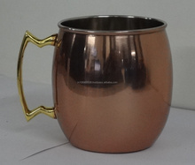 Copper Look Mug Powder Coated Stainless Steel Mug Moscow Mule Mug