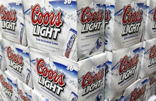 Coors Light Beer 355ml Bottle and Can