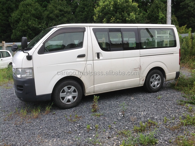 sale of used cars right hand drive in japan for toyota hiace van cbf trh200v buy used cars for. Black Bedroom Furniture Sets. Home Design Ideas