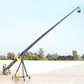 proaim ماكسيما 33ft الكاميرا رافعة تلسكوبية طويلة الثقيلة رافعة الكاميرا تكبير المراقب