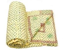 cotton printed adult cartoon bedding set/jaipuri quilt/bed blanket