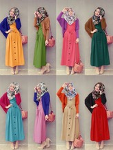 2 Pieces Batwing Cardigan with Button Design Sleeveless Dress with Ribbon (Including Shawl)