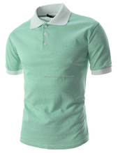 CUSTOMIZED FABRIC EMBROIDERY OR PRINTED BRAND NAME SHORT SLEEVES CUSTOM SPORTS POLO TEE SHIRTS