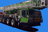 used mobile crane .80ton Demag truck crane