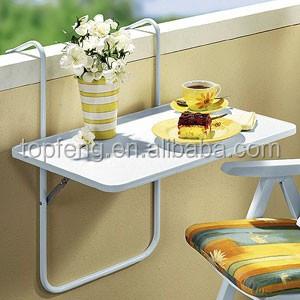 발코니 난간 테이블 접이식 발코니 테이블 매달려 발코니 테이블 ...