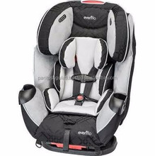 Evenflo Symphony LX All-in-1 Car Seat, Crete Gray