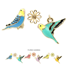 unique birds shape charm earrings for high quality children clothing