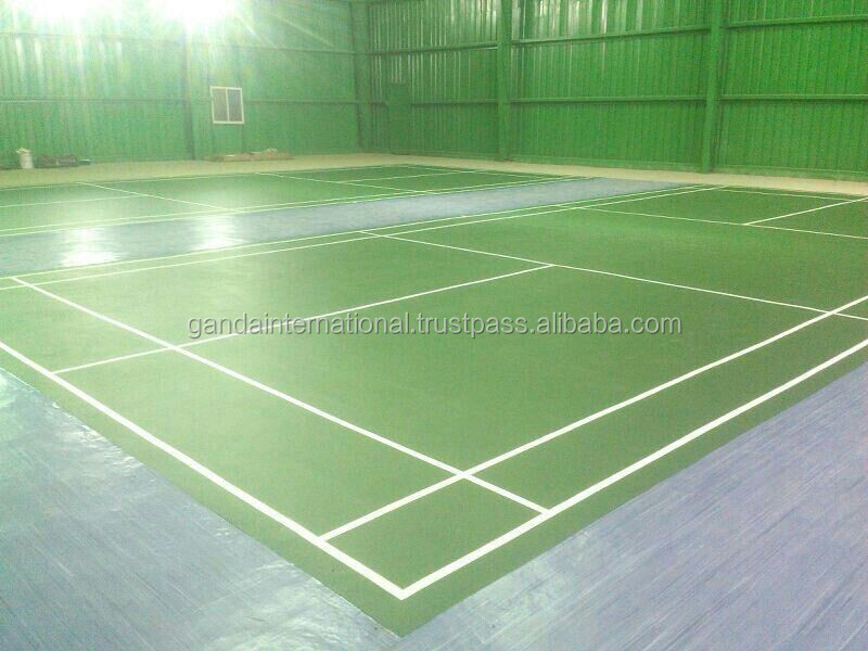Indoor sports floor volleyball synthetic surface buy for Sport court cost per square foot