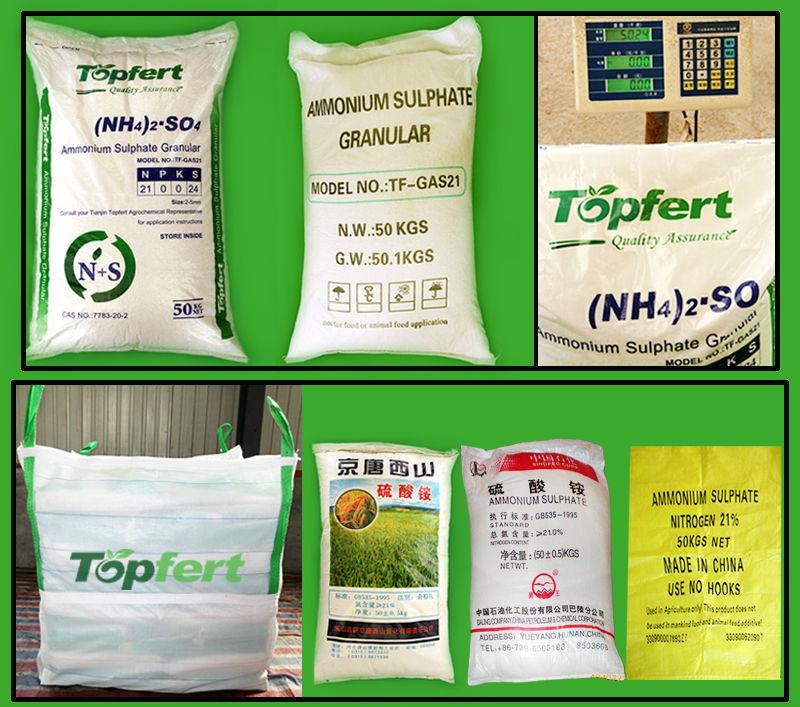 21% fertilizer ammonium sulphate caprolactam grade crystalline