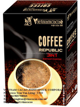 Coffee made in Vinacacao - 3 in 1 Republik