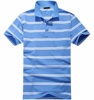 Latest design top quality short sleeve stripe men polo t shirt import from Pakistan