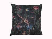 Venta al por mayor lot tradicional impresión del pájaro kantha funda de almohada, Indio kantha fundas de colchón